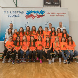 under 13 libertas volley scorzè