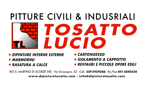 Tosatto Lucio pitture civili ed industriali