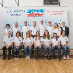 staff tecnico libertas volley scorzè
