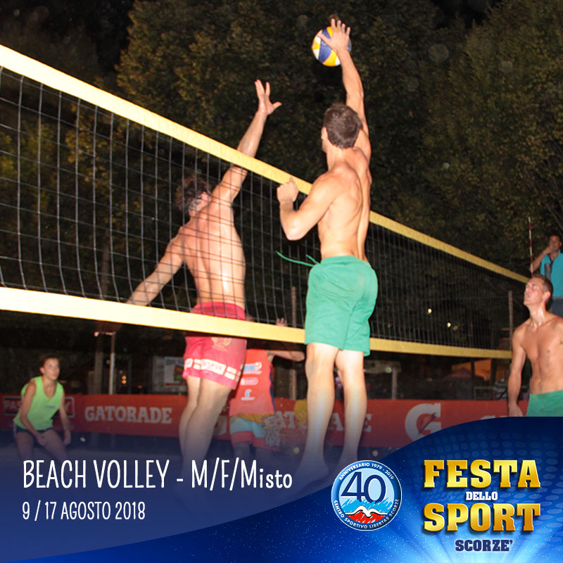 beach volley festa dello sport
