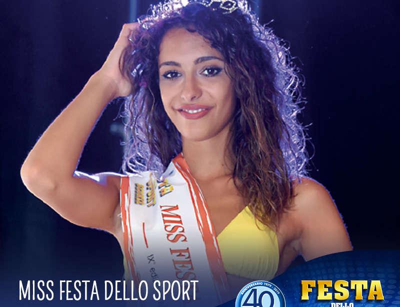 13 Agosto: Miss Festa dello Sport 2019!
