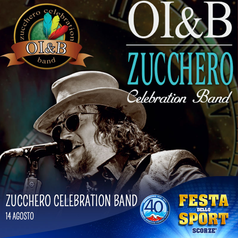 zucchero celebration band ala festa dello sport