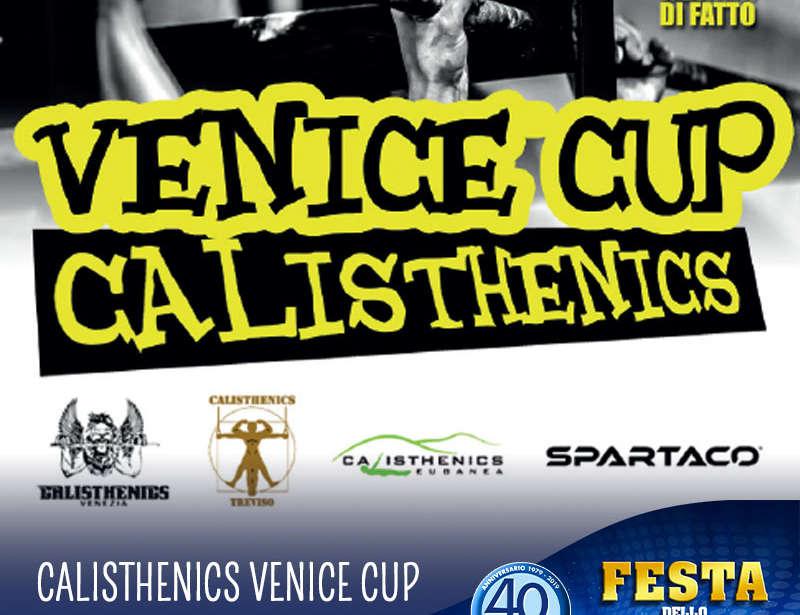 17 Agosto – Festa dello Sport: Calisthenics Venice Cup!