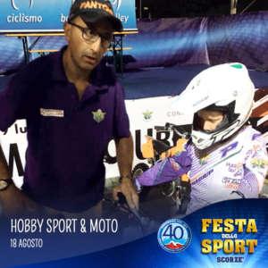 hobby sport e moto alla festa dello sport