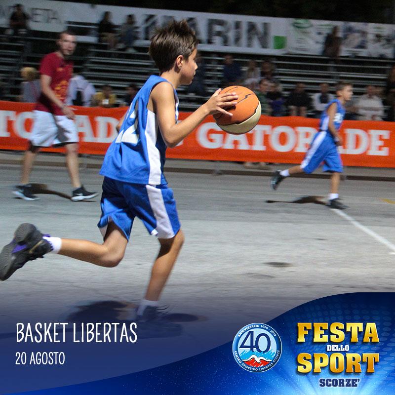 basket libertas alla festa dello sport