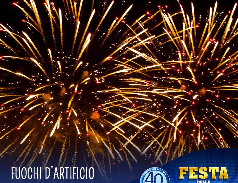 21 Agosto – Festa dello Sport: fuochi d'artificio!