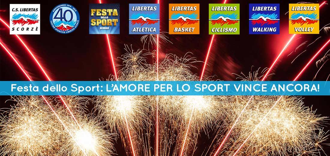 Festa dello Sport 2019: il nostro GRAZIE!