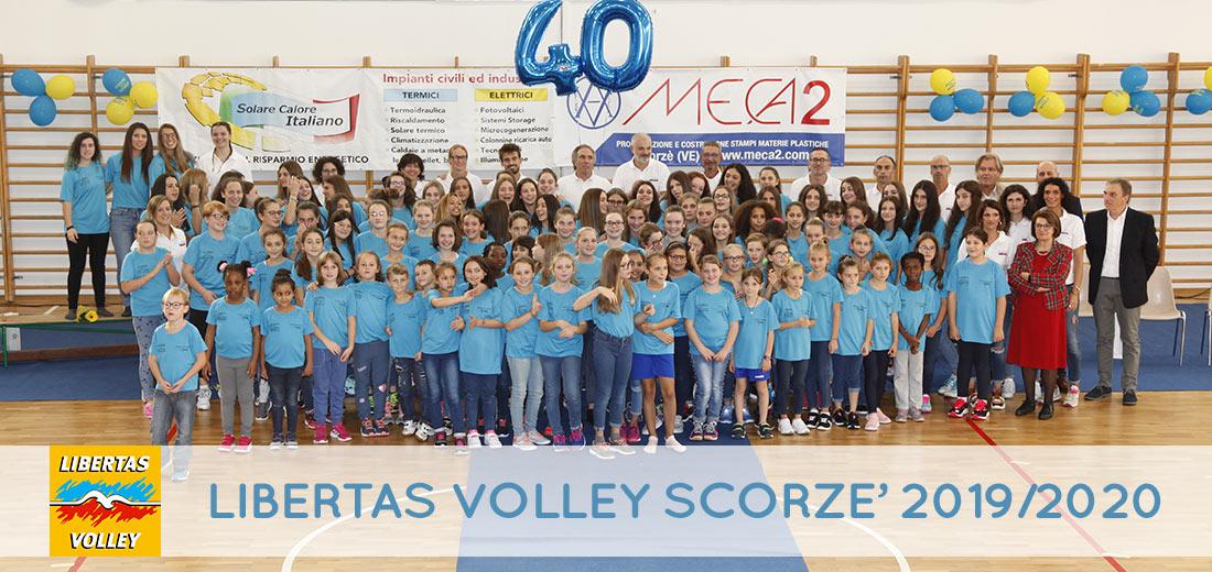Libertas Volley Scorzè: squadre 2019/2020