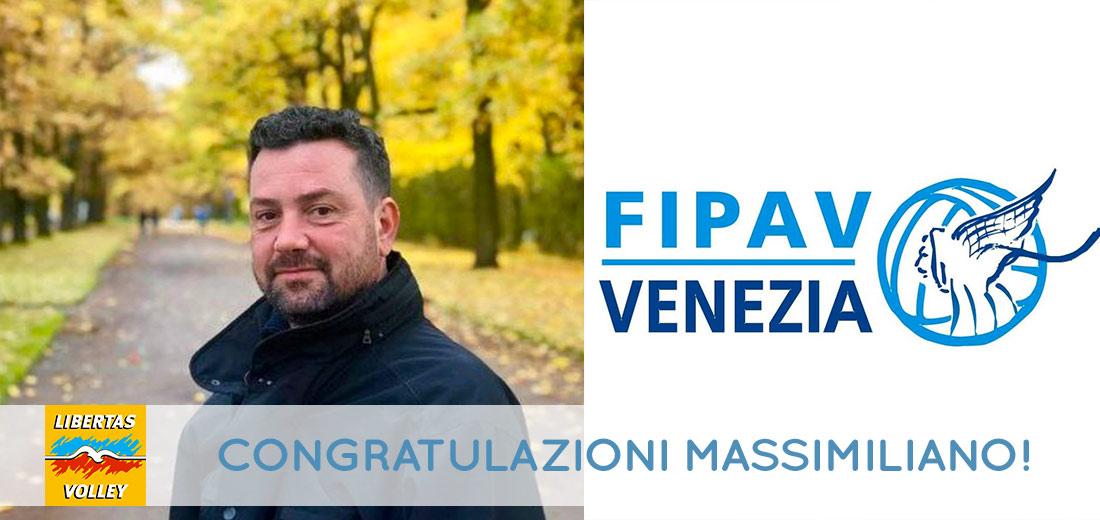 Il nostro Massimiliano Marzola approda in Fipav Venezia!