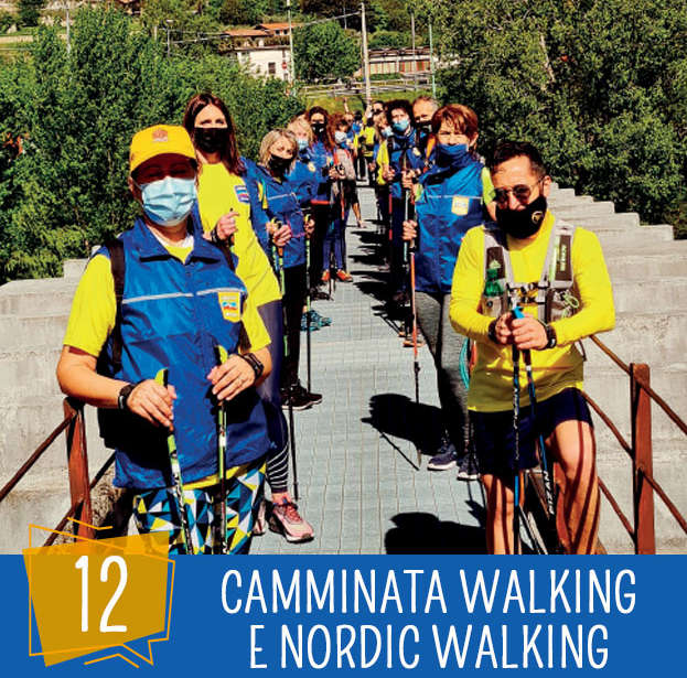 Festa dello sport 12 Agosto: Camminata e Nordic Walking, D. Nespolo