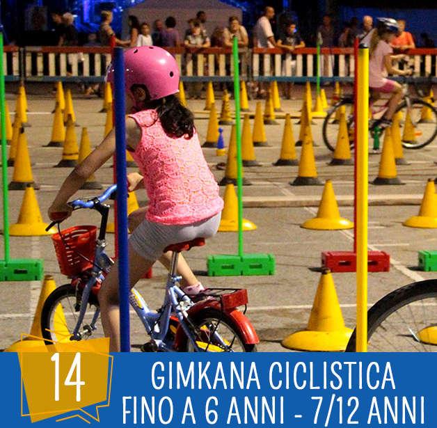 Festa dello Sport 14 Agosto: gimkana ciclistica