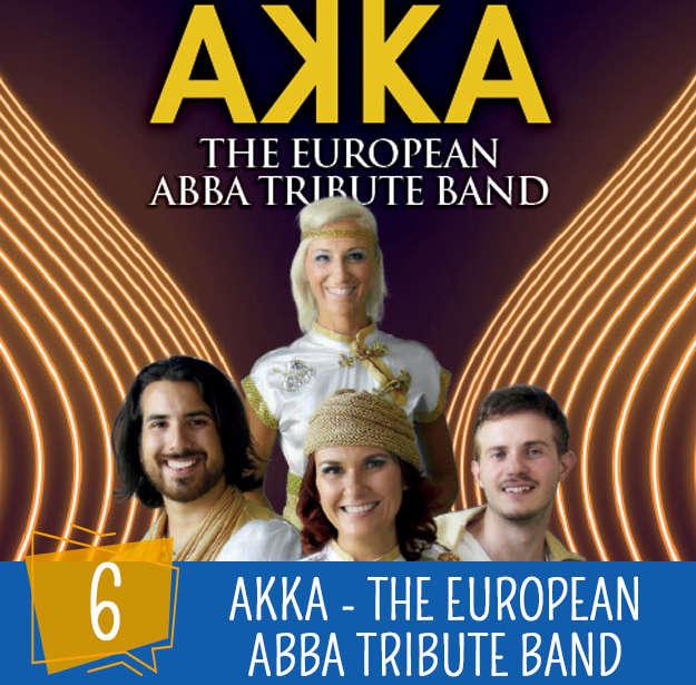 Festa dello Sport 6 Agosto: AKKA European ABBA Tribute Band