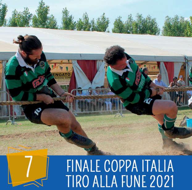 Festa dello Sport 7 Agosto: Titolo Italiano Tiro alla Fune