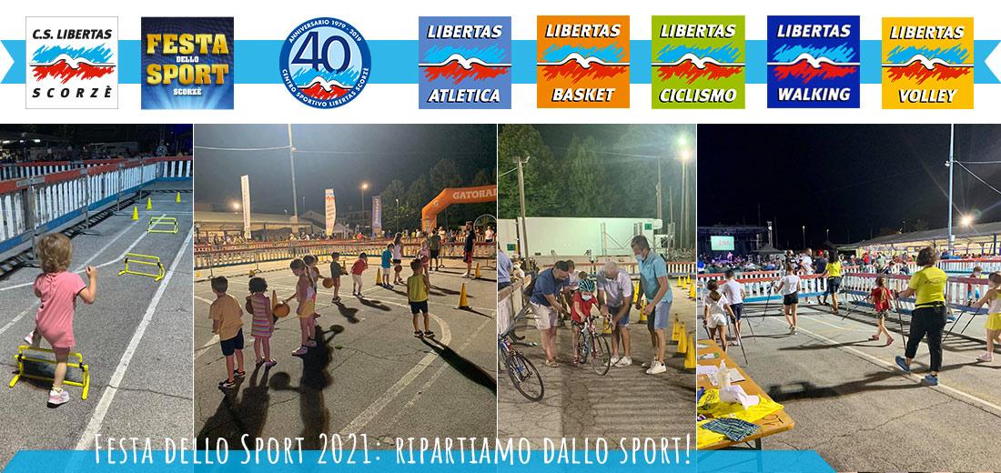Festa dello Sport 2021: ripartiamo dallo sport!